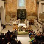 Šmarska farna cerkev za božične praznike ponovno odprla svoja vrata (foto, video)