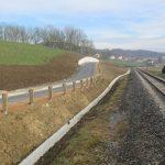Namenu predana povezovalna cesta na vzhodnem delu Šmarja