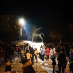 Prižig lučk v Rogaški Slatini neuspešen, a veseli december zato ne odpade  (foto, video)