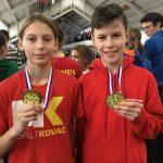 Mlada Šentjurčana atletska prvaka