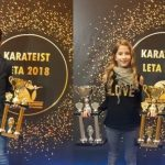 Brat in sestra Bele najboljša karateista za leto 2018