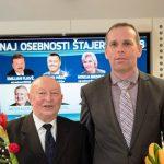 Osebnosti leta 2018 RN sta Vinko But in Franci Jankovič