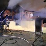 7 PGD posredovalo v nočnem požaru pri Sladki Gori (foto) – DODANI PODATKI ZA POMOČ