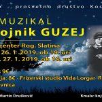 Ponovitev muzikala Razbojnik Guzej v Rogaški Slatini – ponujamo cenejše vstopnice