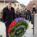 V Sedlarjevem proslavili 75. obletnico prihoda XIV. divizije (foto, video). Gost drugi človek države.