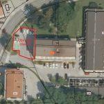 Zaradi pustovanja popolna zapora dela parkirišča ob občinski stavbi v Šmarju (foto)