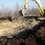Dela na Rudnici so se pričela. Razgledni stolp bo postavljen do konca aprila (foto, video)