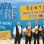 PRESTAVLJENO! Vabimo na Dalmatinski večer s Klapo More v Šentjurju – ponujamo cenejše vstopnice