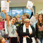 Desa Muck se je družila z mladimi bralci v Knjižnici Rogaška Slatina (foto)