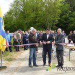 Otvoritev kolesarske steze v Sodni vasi (foto/video)