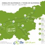 Dirka po Sloveniji tudi letos skozi območje Kozjansko-Obsoteljskega (časovnica dirke in 3D predstavitev trase)