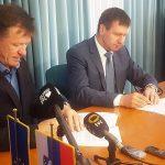 Občina Rogaška Slatina podpisala pogodbo za rekonstrukcijo ceste in ureditev mini krožišča