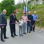 Prenovljena cesta Razbor – Hotunje uradno odprta (foto)