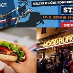 Hood Burger za živahno dogajanje v središču Celja: Ulična zabava s St. Louis Bandom