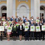 V Rogaški Slatini podelili plakete novim nosilcem znaka Slovenia Green