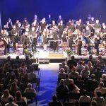 Pihalni orkester Šentjur navdušil s Privškovimi priredbami na koncertu ob Dnevu državnosti (foto, video)