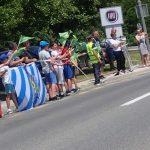 Dirka po Sloveniji 2019, 2. etapa z letečim ciljem v Šmarju pri Jelšah (foto, video)