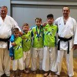 Podrobneje z otroškega balkanskega prvenstva v karateju