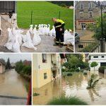 Zbiranje prijav škode v neurju s poplavami, močnim vetrom in točo 7. in 8. julija
