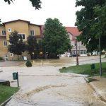 Zbiranje prijav škode v neurju s poplavami in točo 22. in 23. junija