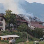 Sedemčlanski družini Škorjak požar uničil glavni vir dohodkov
