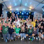 Šempeterske vaške igre: Tekmovalci naredili zabavno popoldne, zvečer množico navdušil Luka Basi