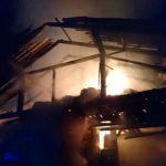 Znana vzrok in obseg škode v drameljskem požaru