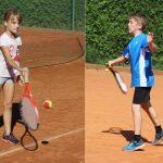 Pri tenisačih zmagi za brata in sestro Kiderič