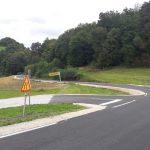 Občina Šmarje: obnova dveh odsekov lokalnih cest in sanacija plazu skoraj končana (foto)