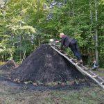 V Kozjanskem parku prižgali kopo (foto)