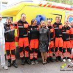 Energetsko saniran zdravstveni dom in novo reševalno vozilo v Šmarju (foto)