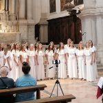 Mlade pevke uspešne v Benetkah
