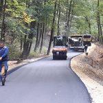 V Kozjem in okolici prenova več cestnih odsekov