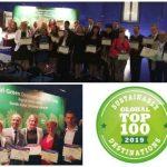 Med 100 najbolj trajnostnimi destinacijami na svetu tudi Podčetrtek, Rogaška Slatina in Šentjur