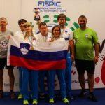 Zidar z ekipo 3. na svetovnem prvenstvu