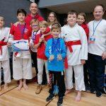 Karateisti s kopico medalj z močnega mednarodnega turnirja Ljubljana Open 2019