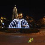 V Rogaški Slatini so prižgali praznično razsvetljavo (foto/video)