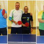Prvi trojček panog Športnih iger društev (namizni tenis, badminton, šah)