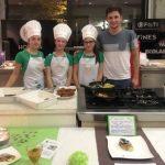 Učenci iz Bistrice ob Sotli na Zlati kuhalnici s slovenskim kmečkim krožnikom