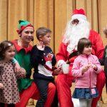 Cirkus v škratovi deželi in obisk Božička v Knjižnici Rogaška Slatina