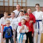 Karateisti nastopili v Šaleški dolini