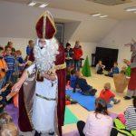 Miklavž tudi v Šentjurju obdaril otroke. Miklavžev sejem bil je živ (foto, video)