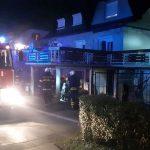 Nočni požar v Rogaški Slatini s hitrim gasilskim posredovanjem (foto)