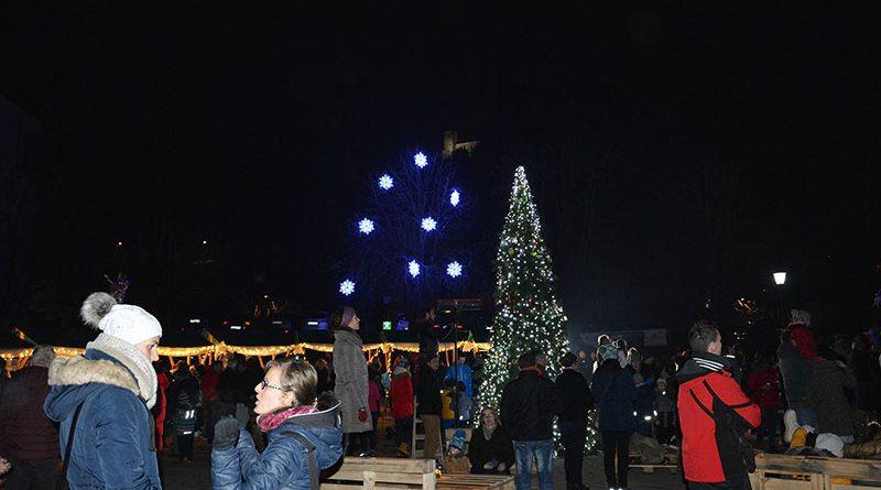 Prižig lučk v Šmarju pri Jelšah 2019 (foto)
