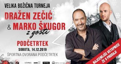 Vabimo na koncert Dražena Zečića in Marka Škugorja z gosti v Podčetrtek