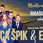 Vabimo na Mediteranski Večer z Manco Špik in Erosi v Rogaški Slatini – ponujamo cenejše vstopnice