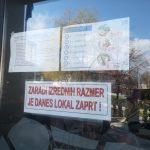 Civilna zaščita poziva k zaprtju lokalov v Šmarju. Ne hodite od doma, če ni nujno!