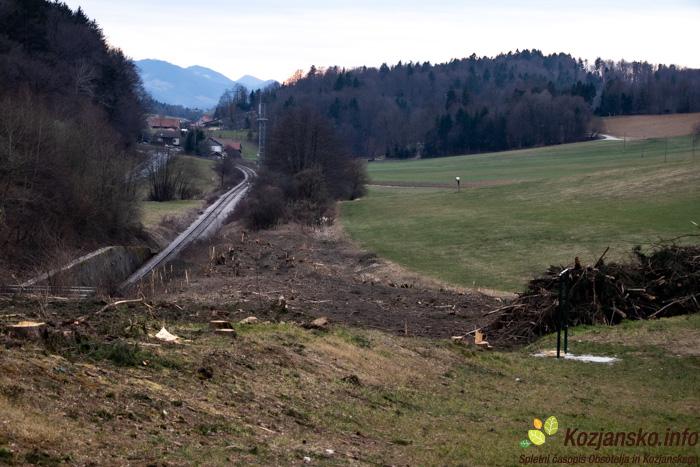 Mogoče bo prav kje v bližini železnoške proge potekala tudi kolesarska pot.