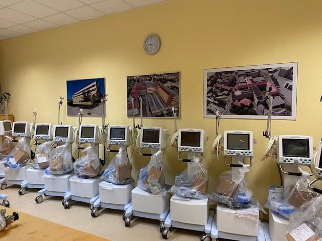 20 novih respiratorjev v Splošni bolnišnici Celje