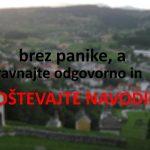 Po šestih potrjenih okužbah v Šmarju novi ukrepi in apel župana Čakša